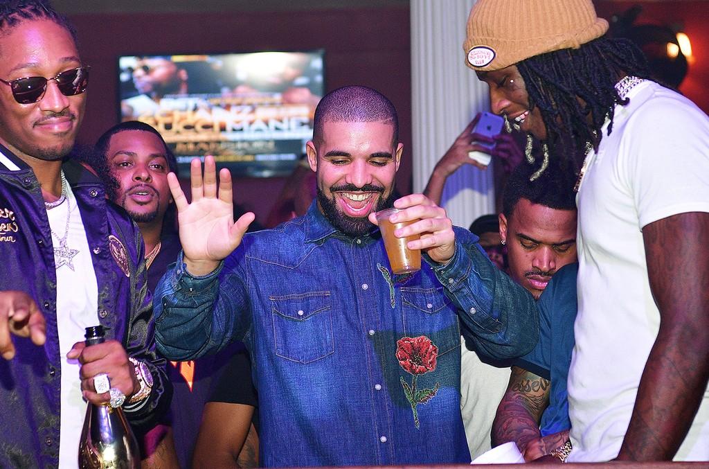 Future, Drake and Young Thug