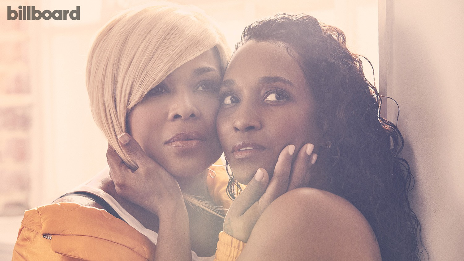 """""""With her sound and my sound, it becomes a TLC record,"""" says Watkins (left) of singing with Thomas. """"We fit in any genre. Even country artists come up to me like, 'I love 'No Scrubs'!"""""""