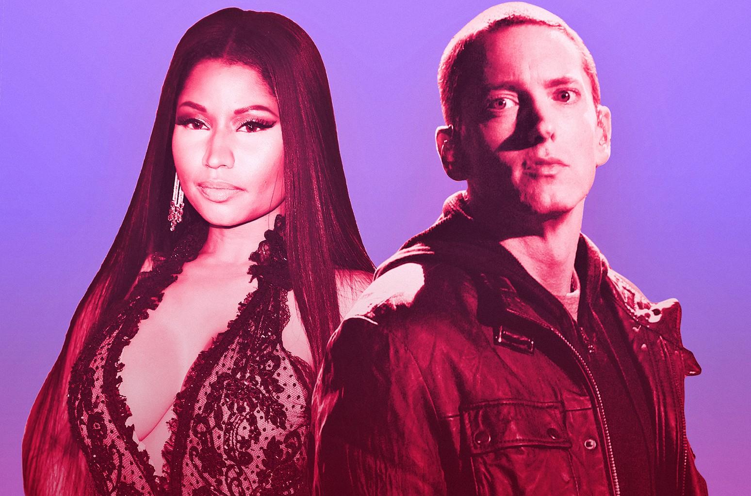 Now 💄 who is eminem dating Nicki Minaj