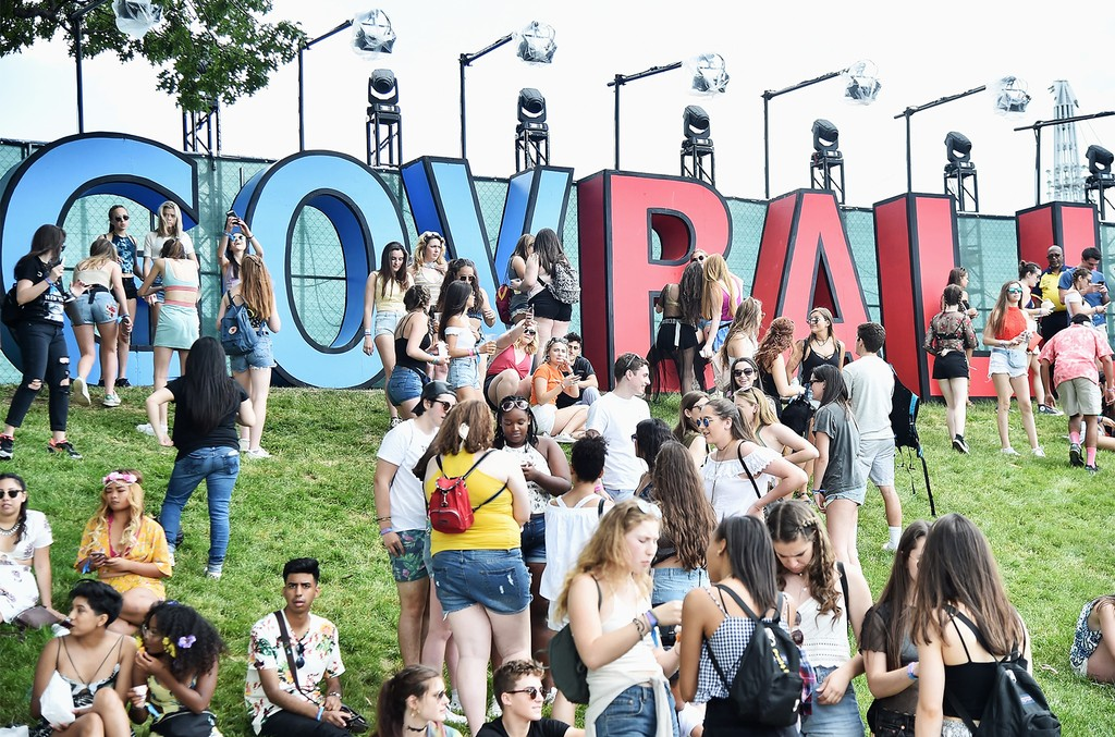 Festival-goers attend the 2017 Governors Ball Music Festival - Day 1 at Randall's Island on June 2, 2017 in New York City.