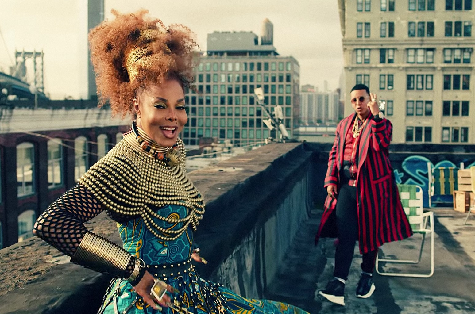 """Janet Jackson x Daddy Yankee, """"Made For Now"""""""