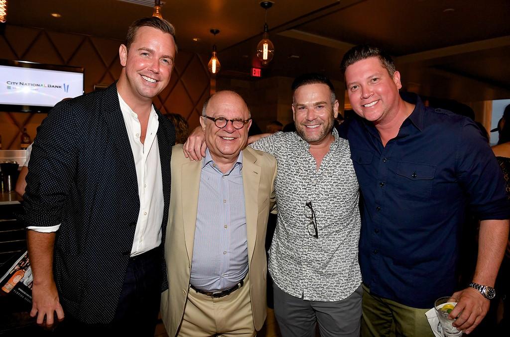 Joel Katz, Clint Higham and Jason Owen