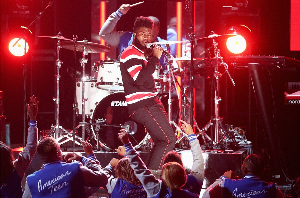 Khalid performs onstage at 2017 BET Awards at Microsoft Theater on June 25, 2017 in Los Angeles.