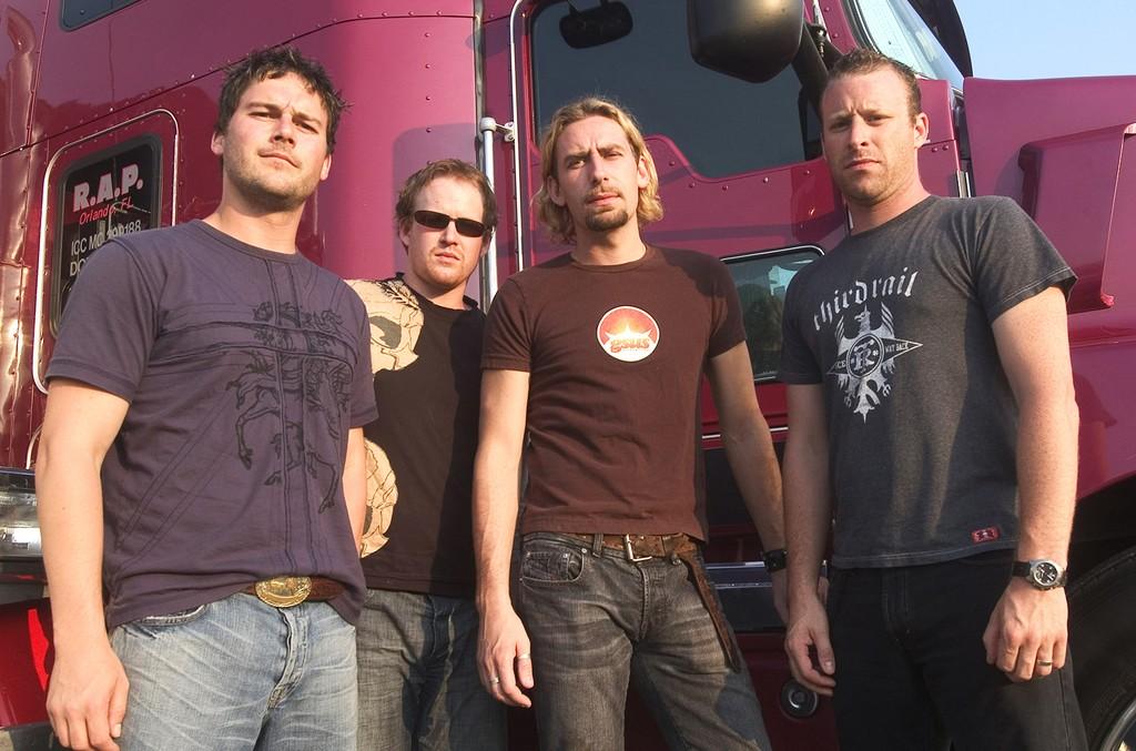 Nickelback in 2004