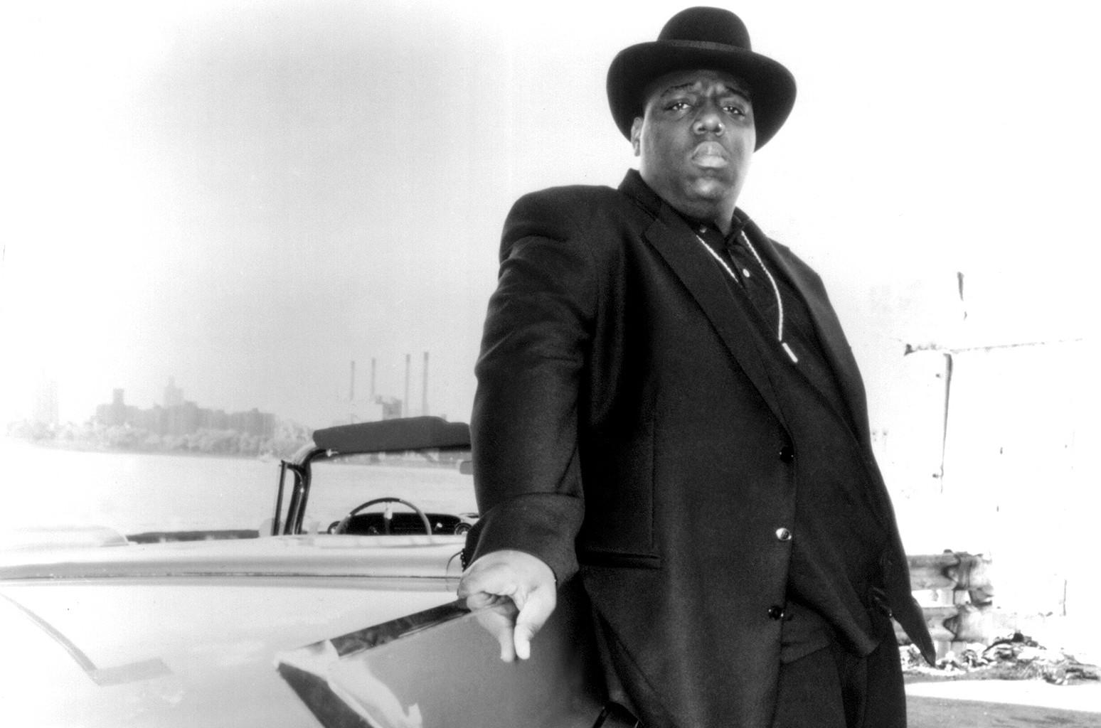 Notorious B.I.G. photographed circa 1997