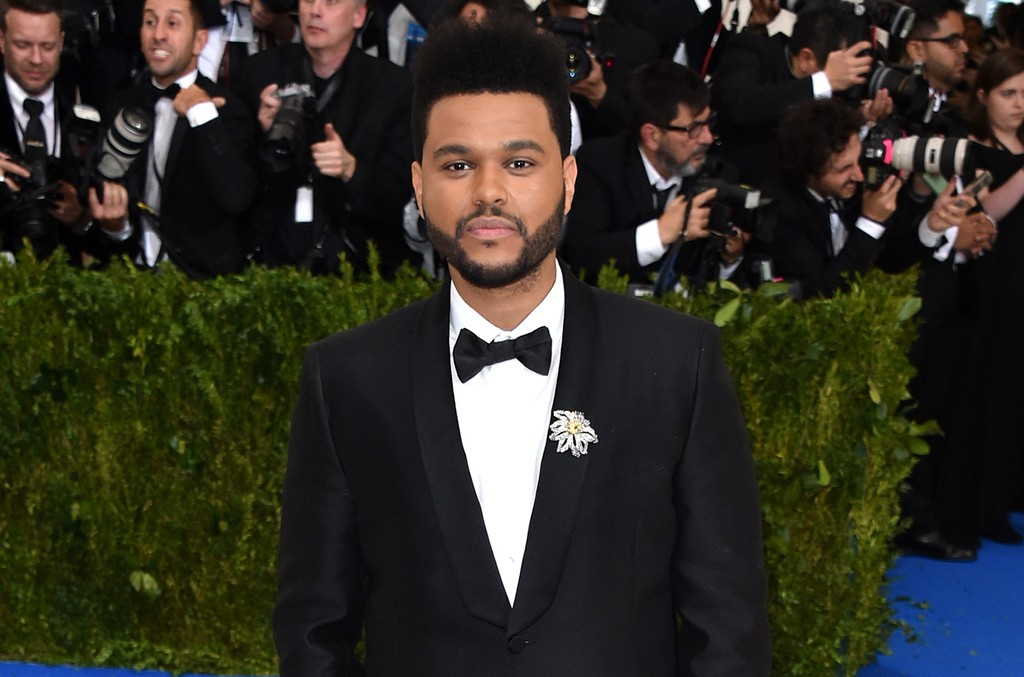 "The Weeknd attends ""Rei Kawakubo/Comme des Garcons: Art Of The In-Between"" Costume Institute Gala at Metropolitan Museum of Art on May 1, 2017 in New York City."