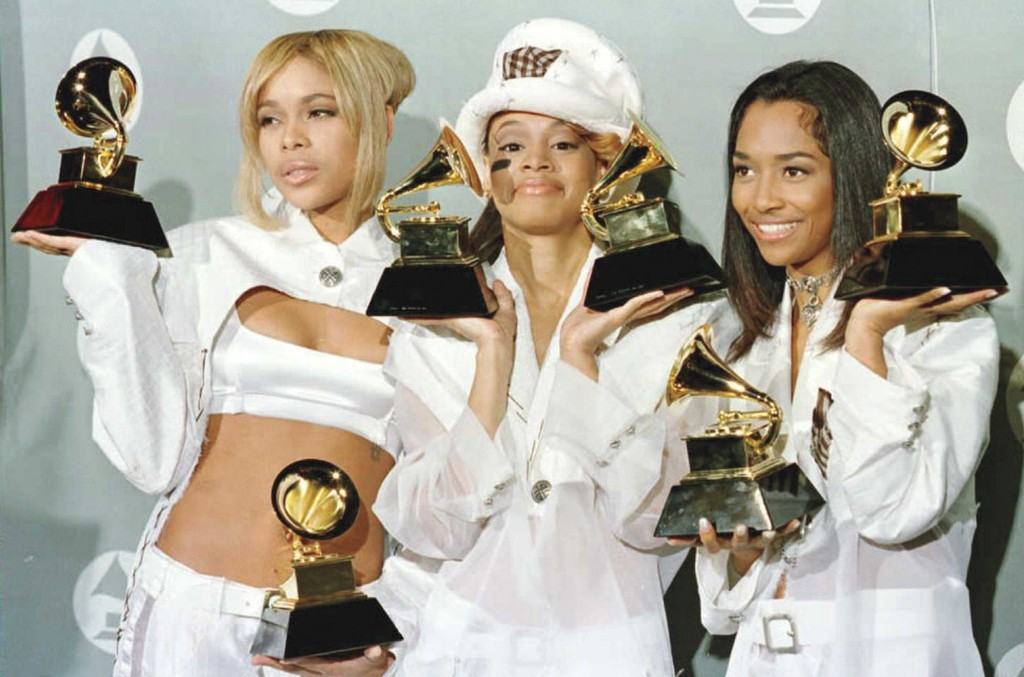 """At the 38th annual Grammy Awards in 1996, TLC won best R&B performance by a duo or group with vocal for """"Creep"""" and best R&B album for CrazySexyCool — and also disclosed its bankruptcy: """"We are broke as broke can be,"""" said Thomas after the ceremony."""