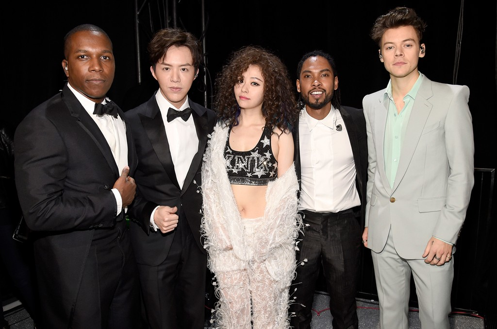 Leslie Odom Jr., Li Yundi, Jane Zhang, Miguel & Harry Styles
