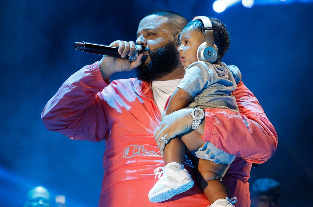 DJ Khaled and Asahd Khaled perform during the 2017 Hot 97 Summer Jam at MetLife Stadium on June 11, 2017 in East Rutherford, New Jersey.