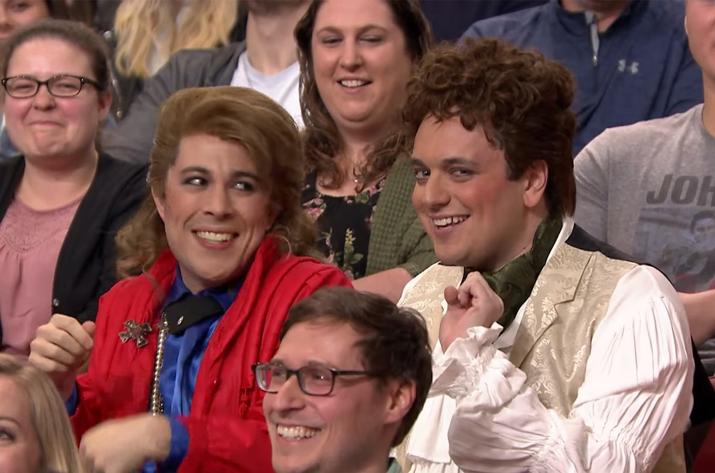 Audience Suggestion Box: Spandau Ballet Guys on The Tonight Show Starring Jimmy Fallon on May 4, 2017.