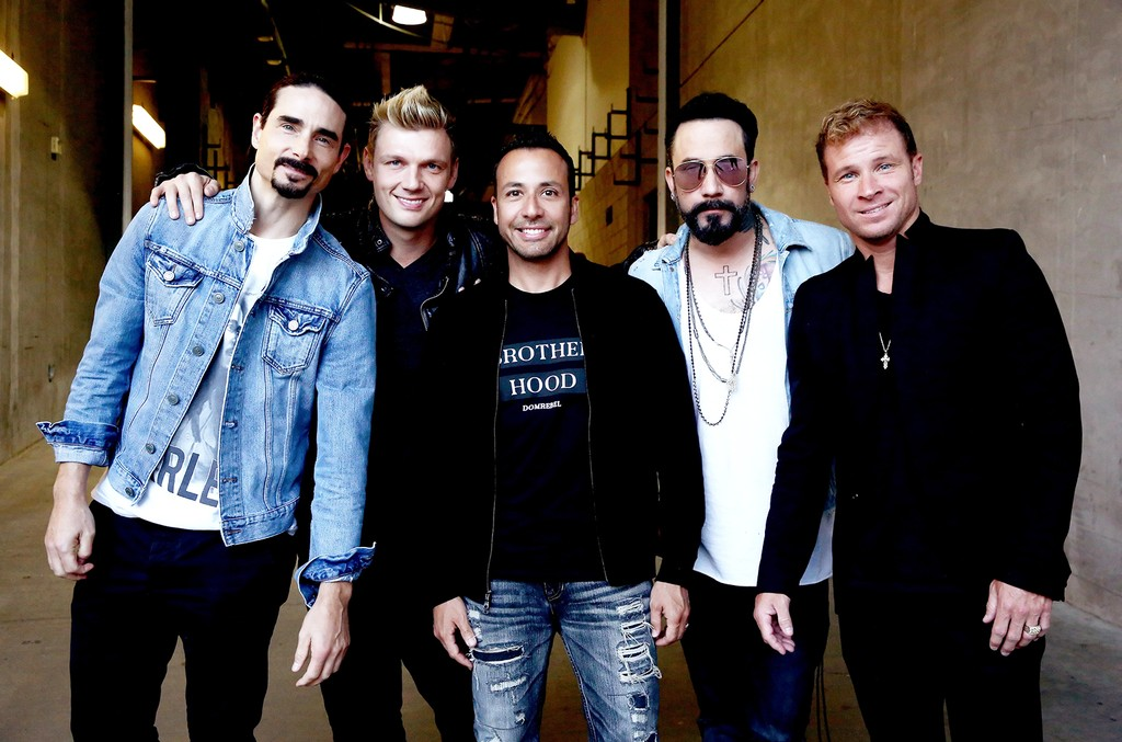 Kevin Richardson, Nick Carter, Howie Dorough, A.J. McLean, and Brian Littrell of Backstreet Boys