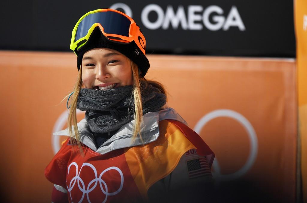 Chloe Kim of the United States