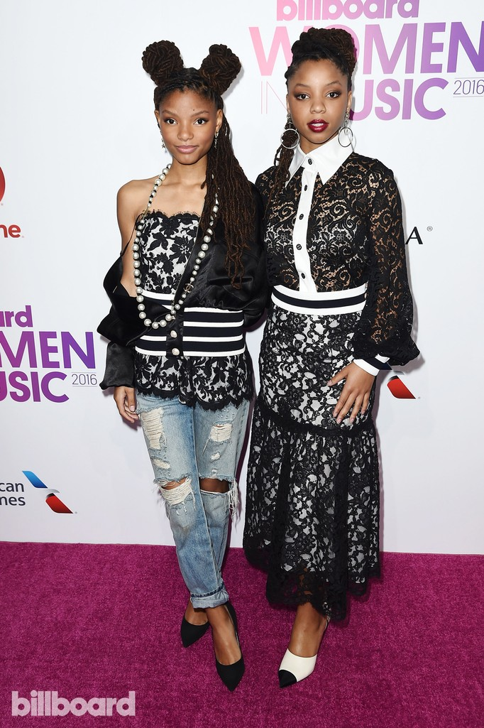 Chloe X Halle attend the Billboard Women in Music 2016 event on Dec. 9, 2016 in New York City.