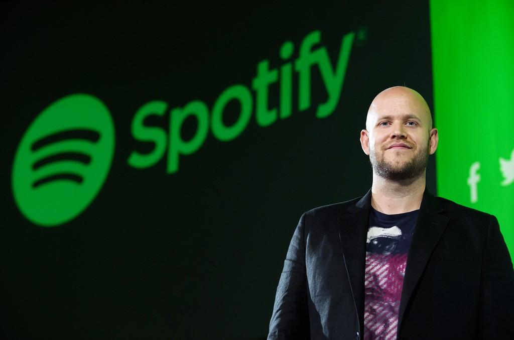 Daniel Ek Spotify