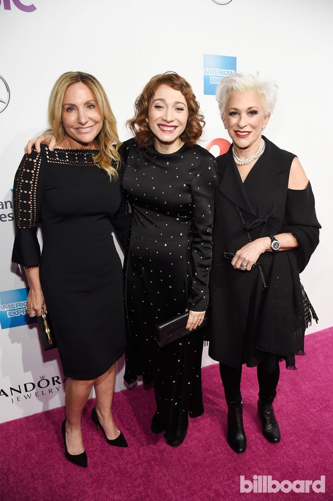 Debra White, Regina Spektor and Marsha Vlasic attend the Billboard Women in Music 2016 event on Dec. 9, 2016 in New York City.