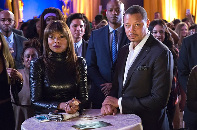 Taraji P. Henson and Terrence Howard, Empire