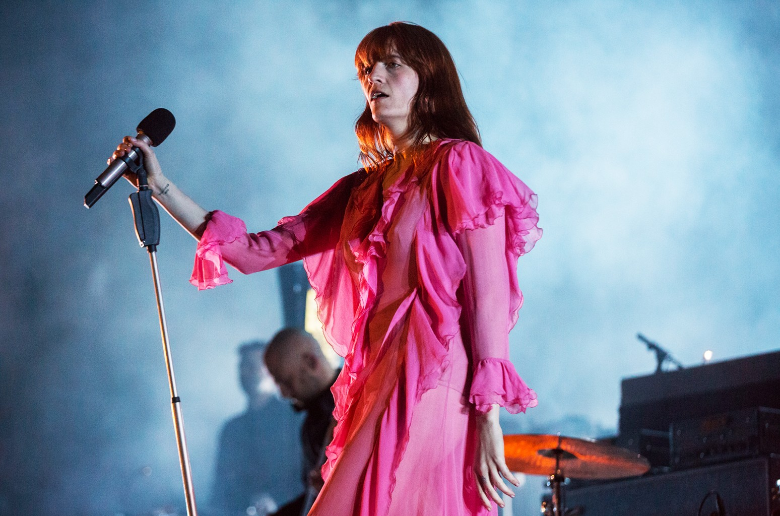 Florence + the Machine performs at Sasquatch! Music Festival on May 30, 2016.