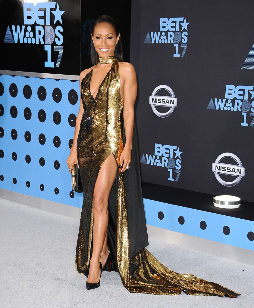Jada Pinkett Smith attends the 2017 BET Awards at Microsoft Theater on June 25, 2017 in Los Angeles.