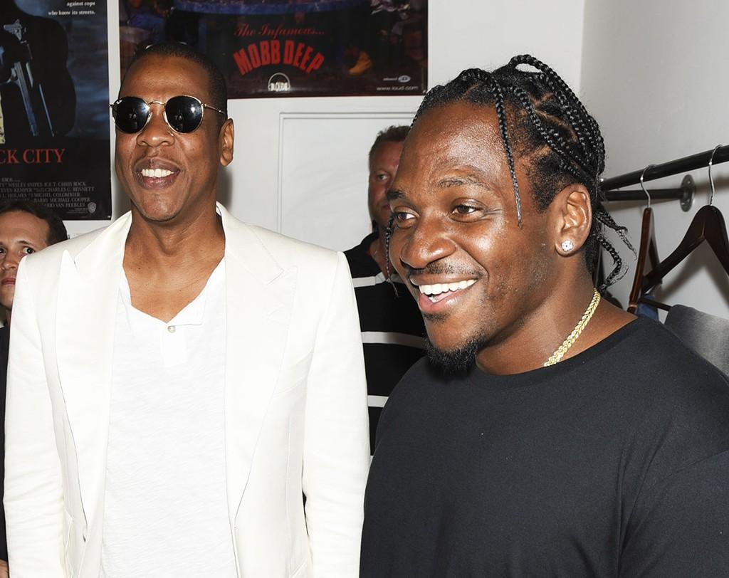 Jay-Z and Pusha T