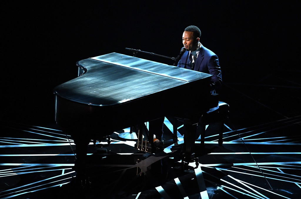 John Legend performs onstage during the 89th Annual Academy Awards at Hollywood & Highland Center on Feb. 26, 2017 in Hollywood, Calif.