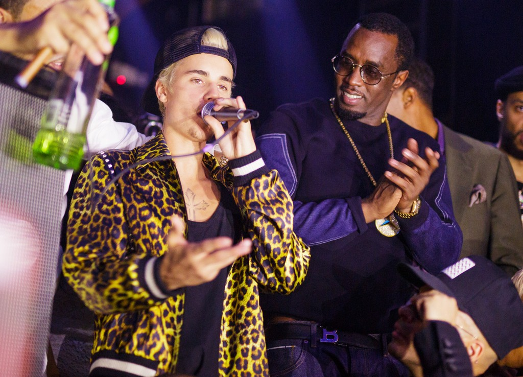 "Justin Bieber and Sean ""Diddy"" Combs"