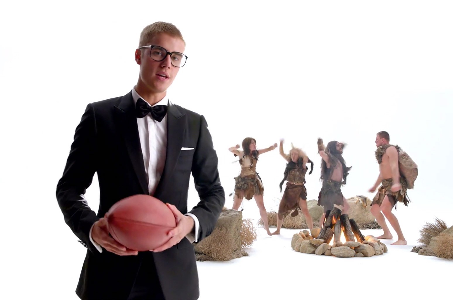 Justin Bieber in T-Mobile commercial #UnlimitedMoves