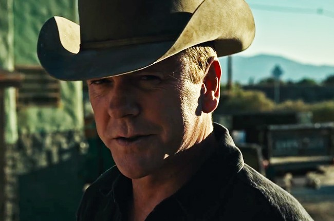 Kiefer Sutherland 'Not Enough Whiskey'