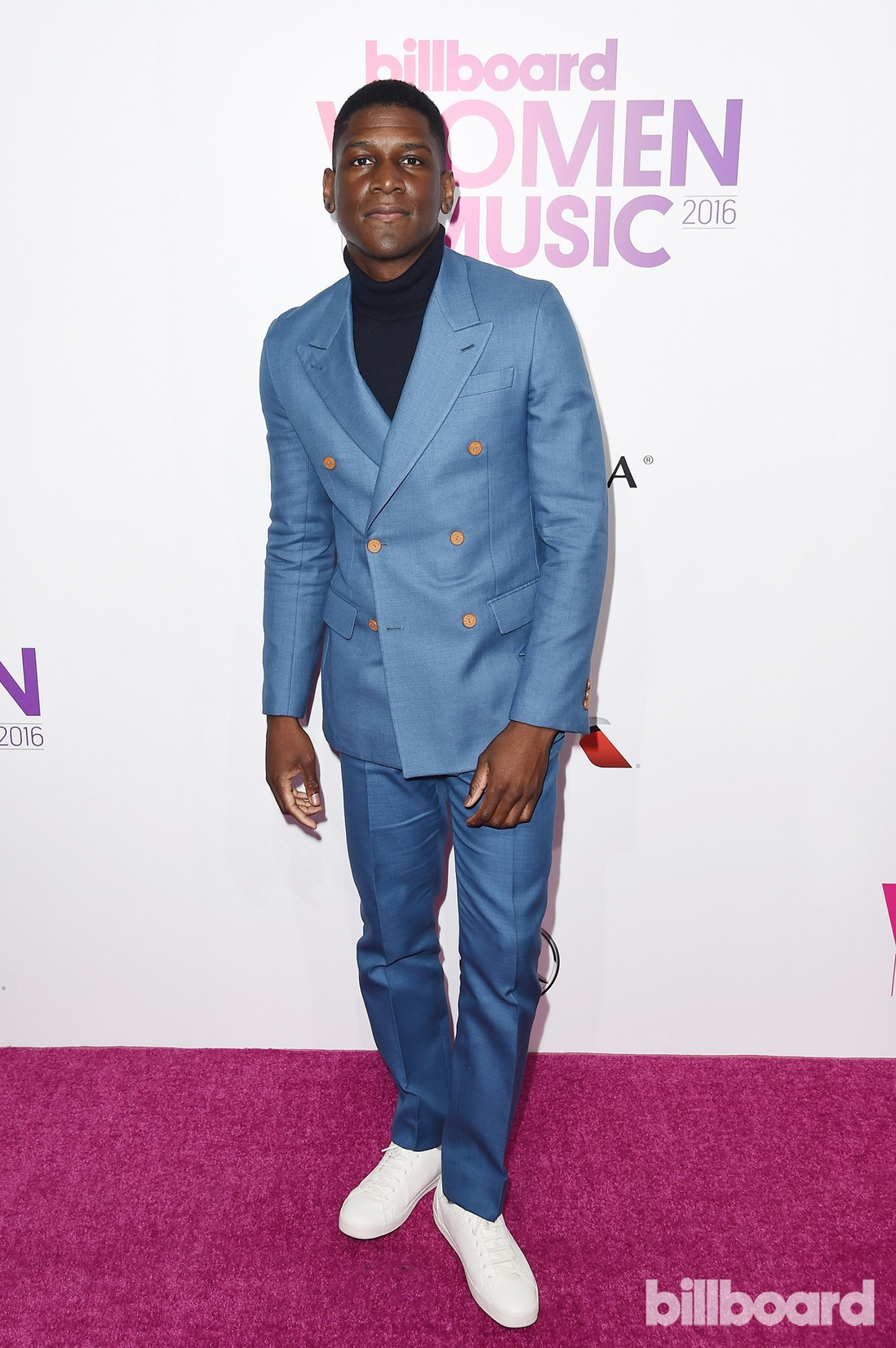 Labrinth attends the Billboard Women in Music 2016 event on Dec. 9, 2016 in New York City.