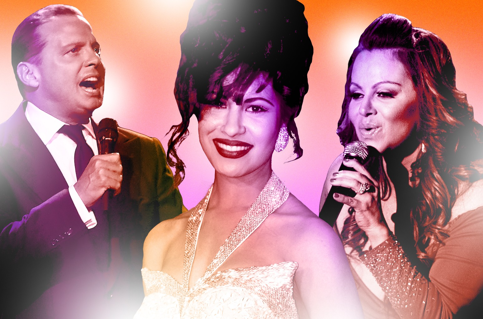 From left: Luis Miguel, Selena and Jenni Rivera