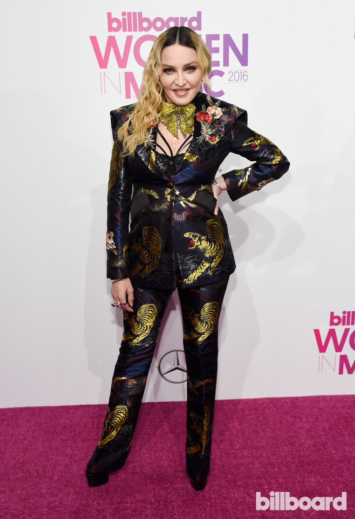 Madonna attends the Billboard Women in Music 2016 event on Dec. 9, 2016 in New York City.