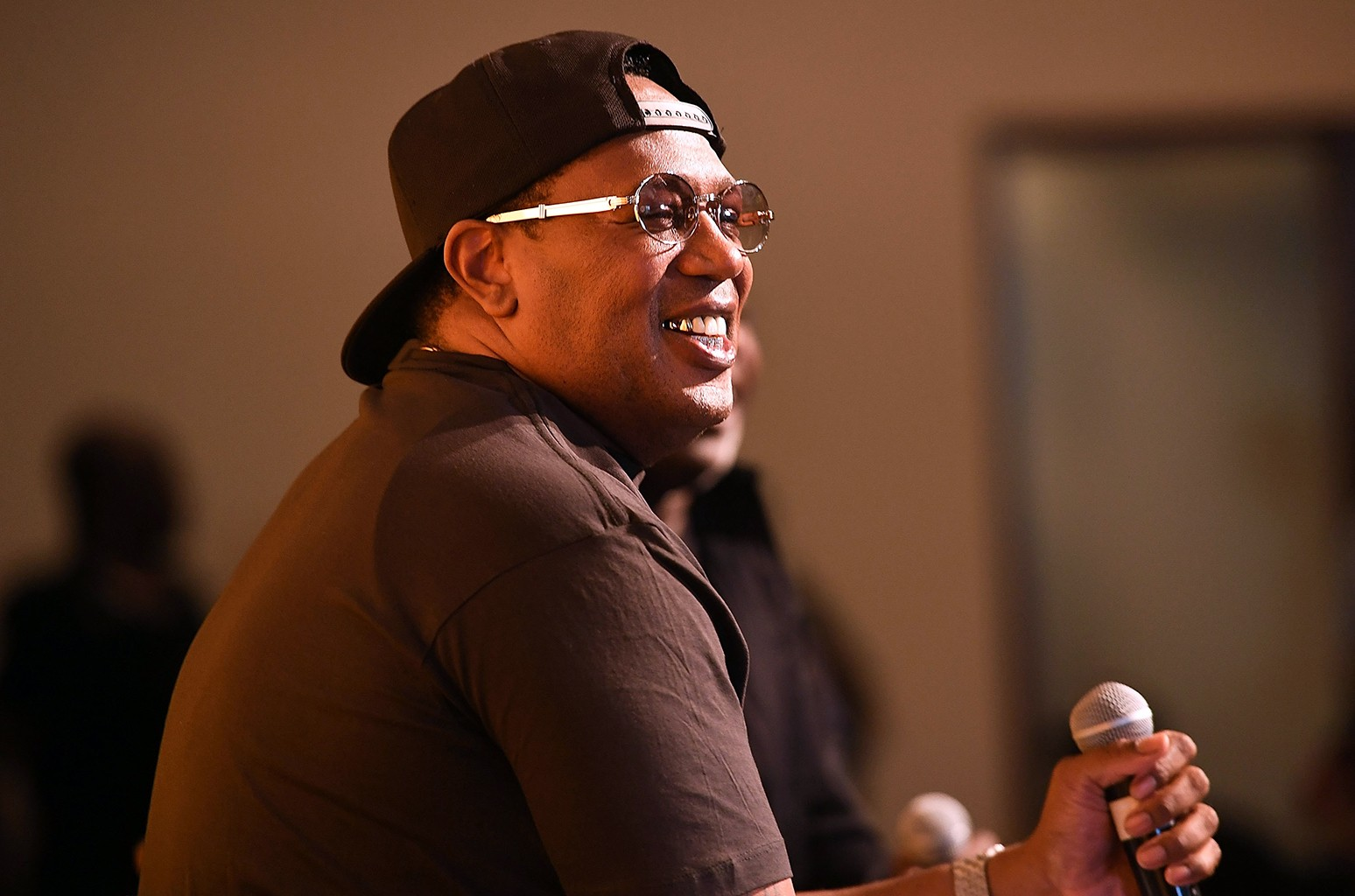 Master P speaks on stage at A3C Festival And Conference