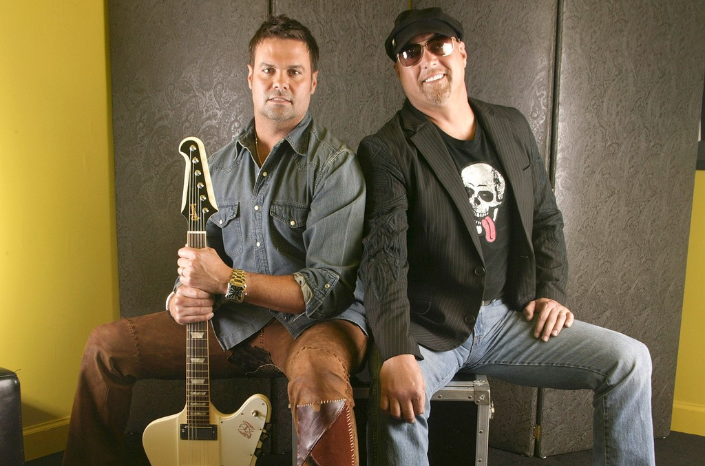 Troy Gentry and Eddie Montgomery, of the country music duo Montgomery Gentry