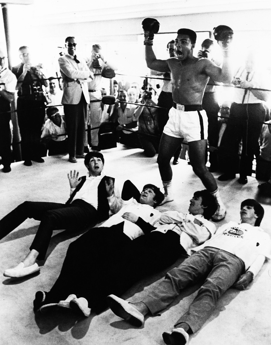 Muhammad Ali, the beatles