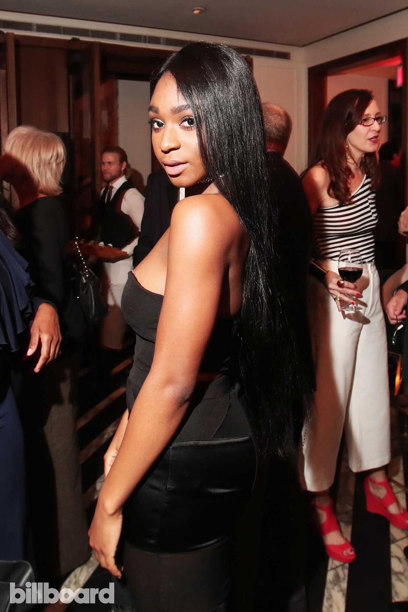 Normani Kordei of musical group Fifth Harmony attends Billboard Power 100 - Red Carpet at Cecconi's on Feb. 9, 2017 in West Hollywood, Calif.