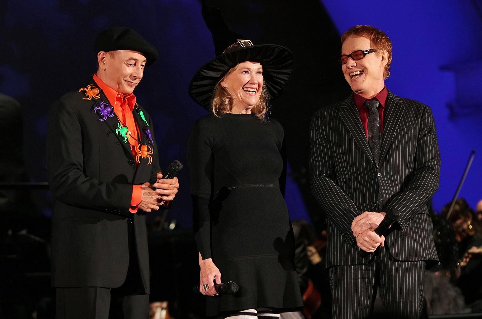 Paul Reubens, Catherine O'Hara & Danny Elfman