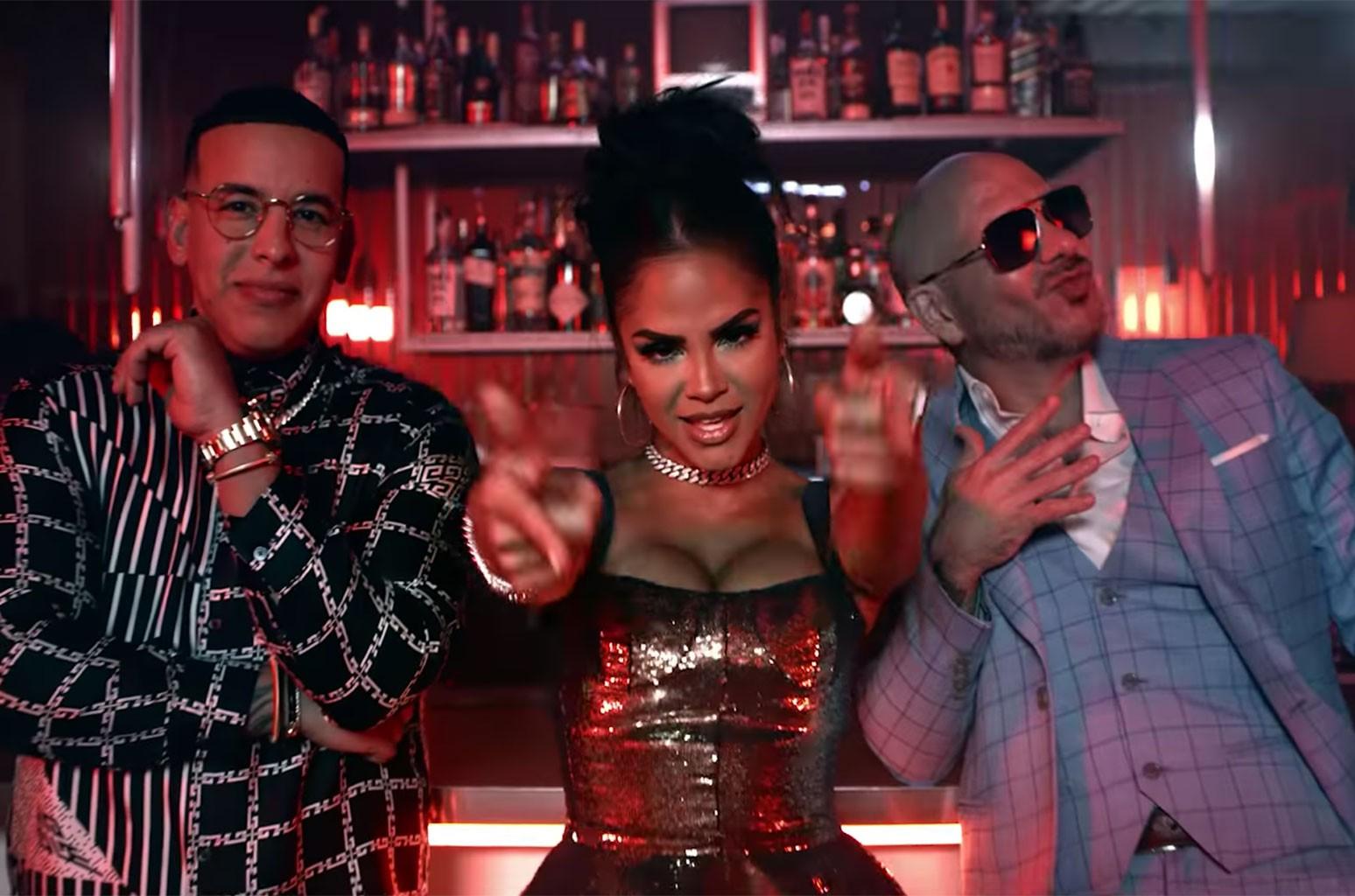 "Daddy Yankee, Natti Natasha and Pitbull, ""No Lo Trates"""