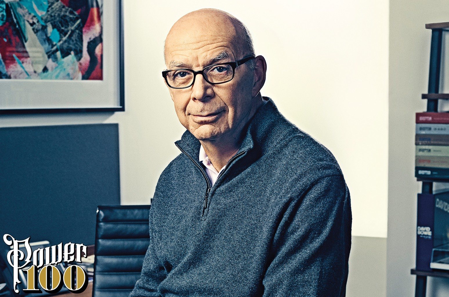Stephen Cooper photographed on Jan.25 at Warner Music Group in New York.