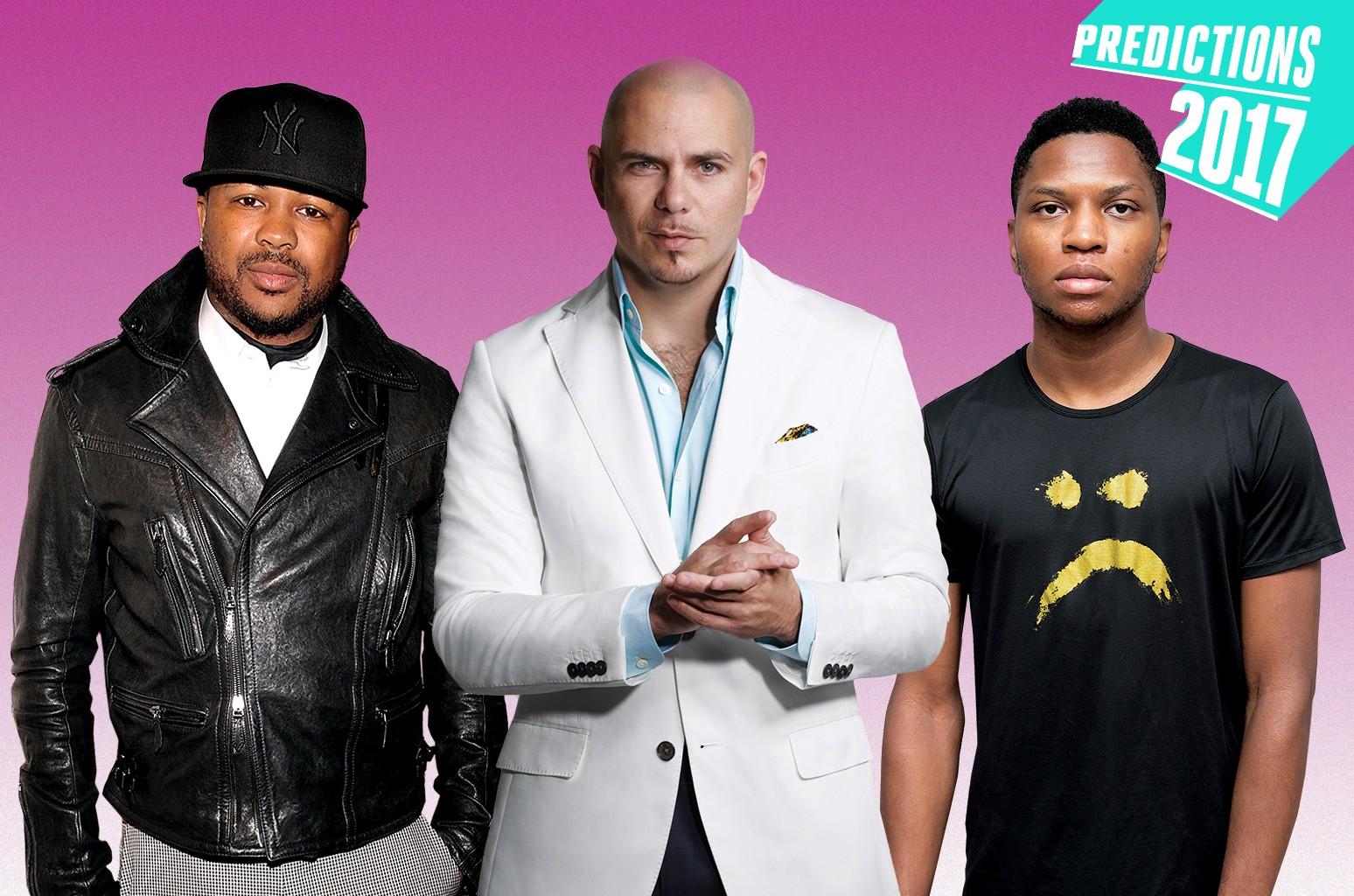 The Dream, Pitbull & Gallant