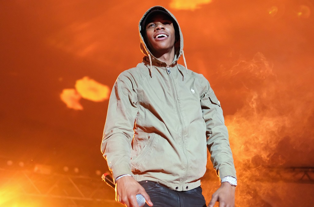 A Boogie wit da Hoodie performs onstage at the Mass Appeal music showcase during 2017 SXSW Conference and Festivals at Stubbs on March 16, 2017 in Austin, Texas.