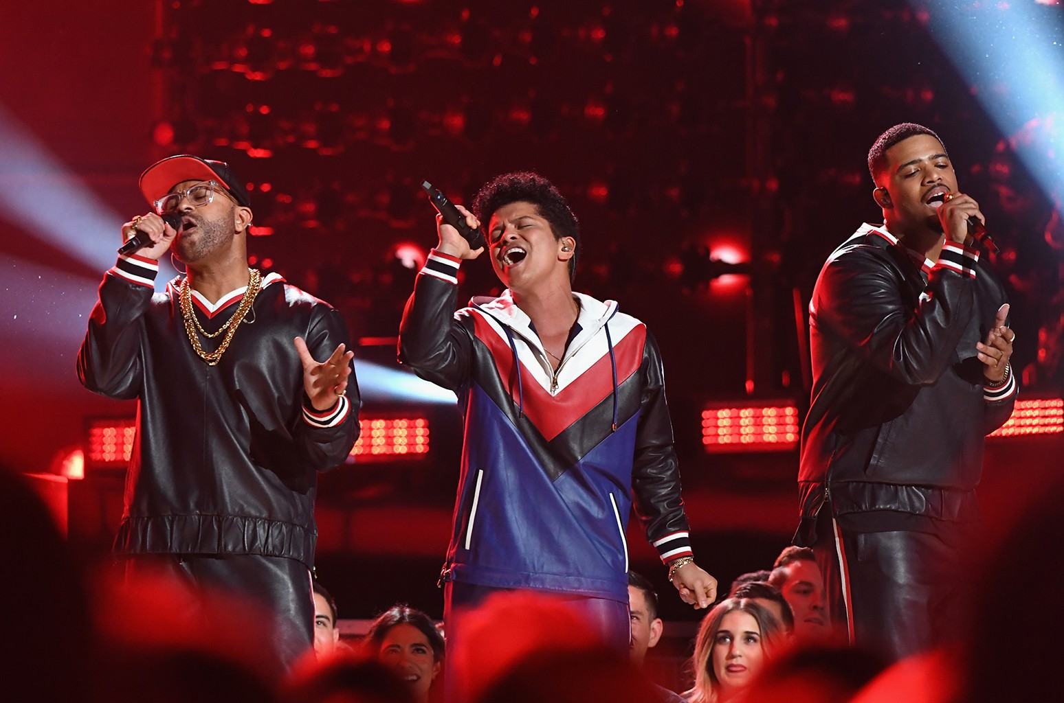 Bruno Mars performs onstage during The 59th Grammy Awards at Staples Center on Feb. 12, 2017 in Los Angeles.