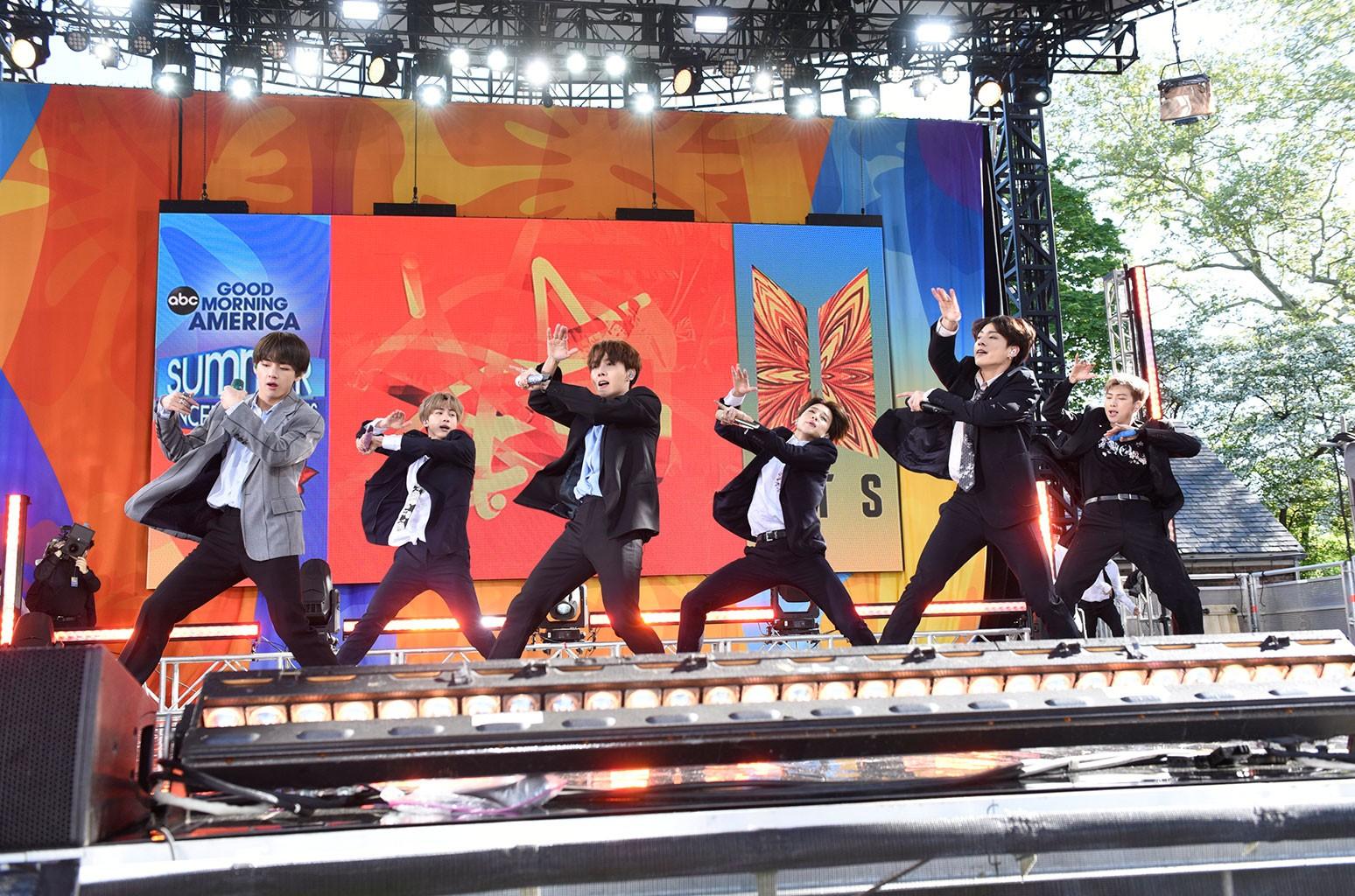 BTS Good Morning America