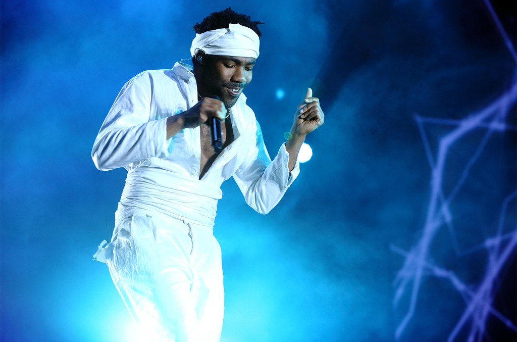 Childish Gambino performs on day 2 of the Governors Ball 2017 music festival at Randall's Island on June 3, 2017 in New York City.