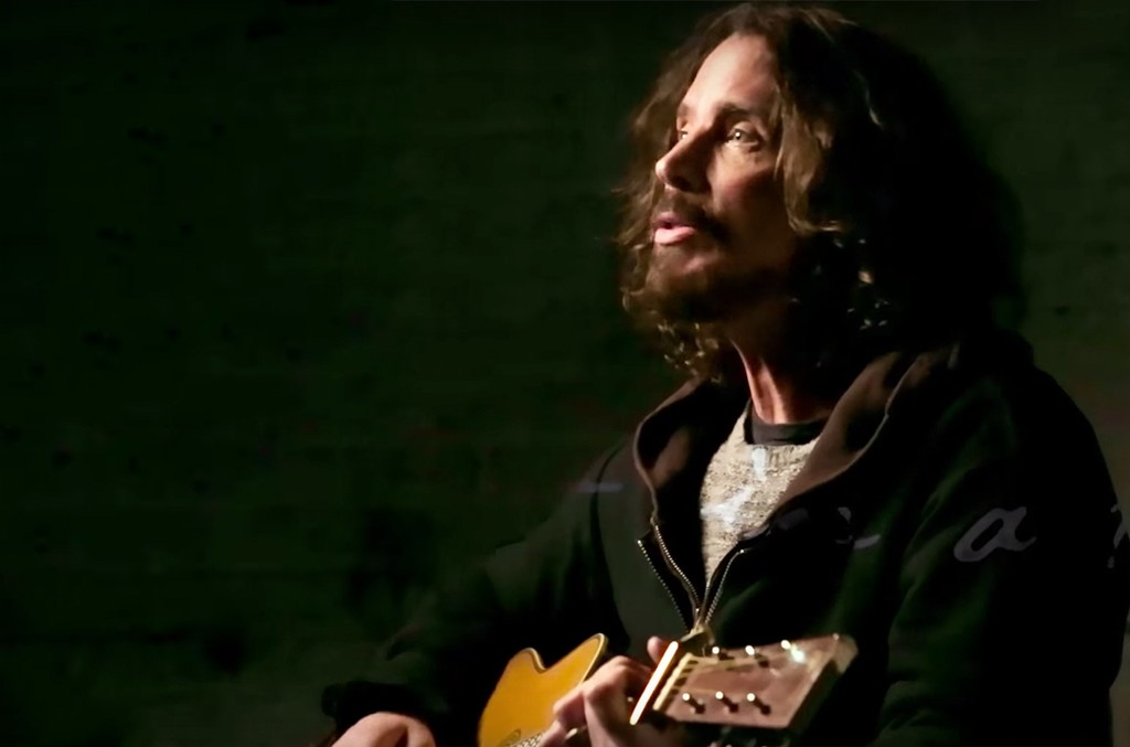 "Chris Cornell in the video for ""The Promise"""