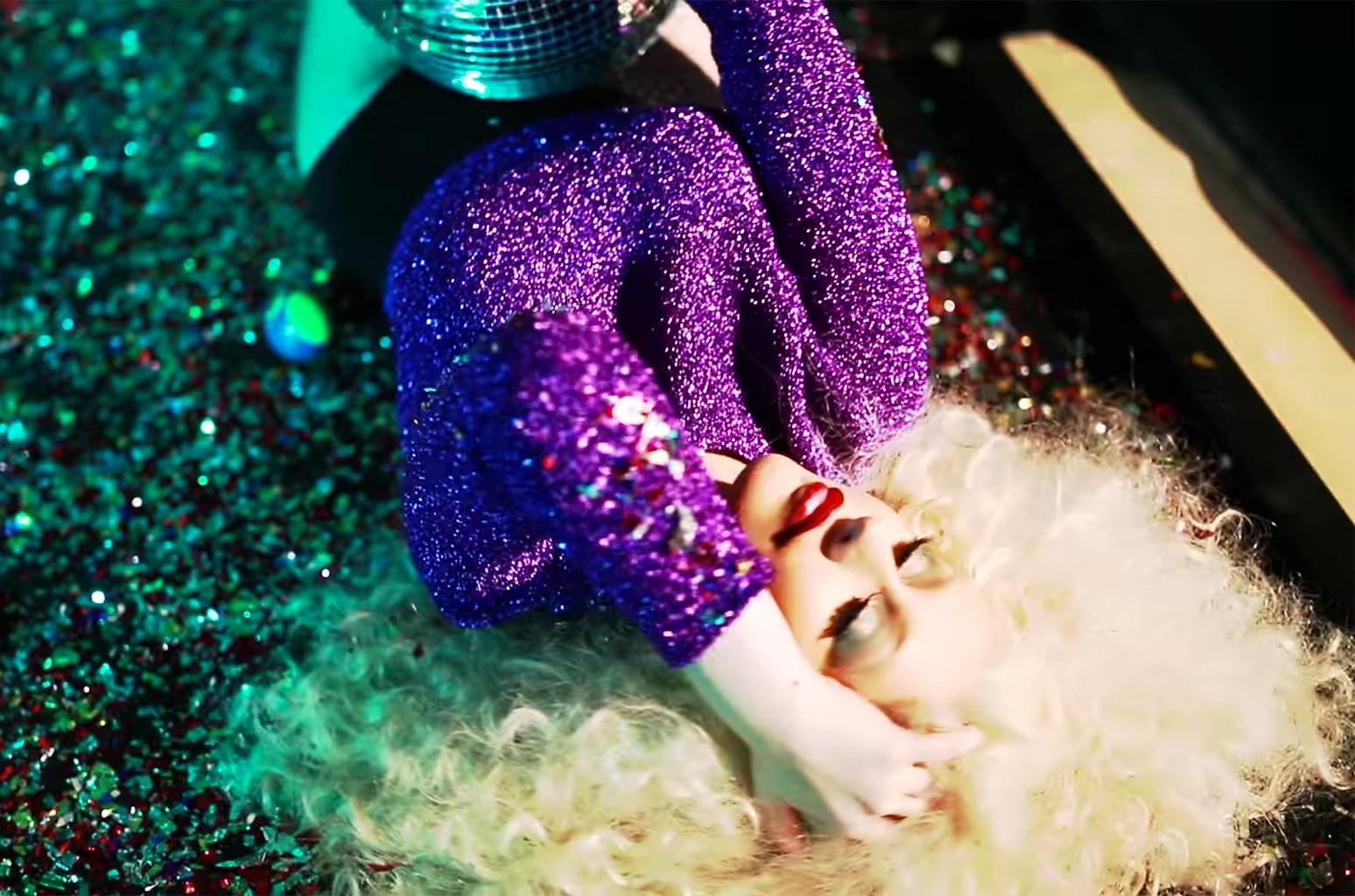 """Christina Aguilera ft. Nile Rogers, """"Telepathy"""""""