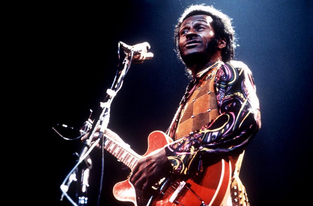 Chuck Berry photographed circa 1973.