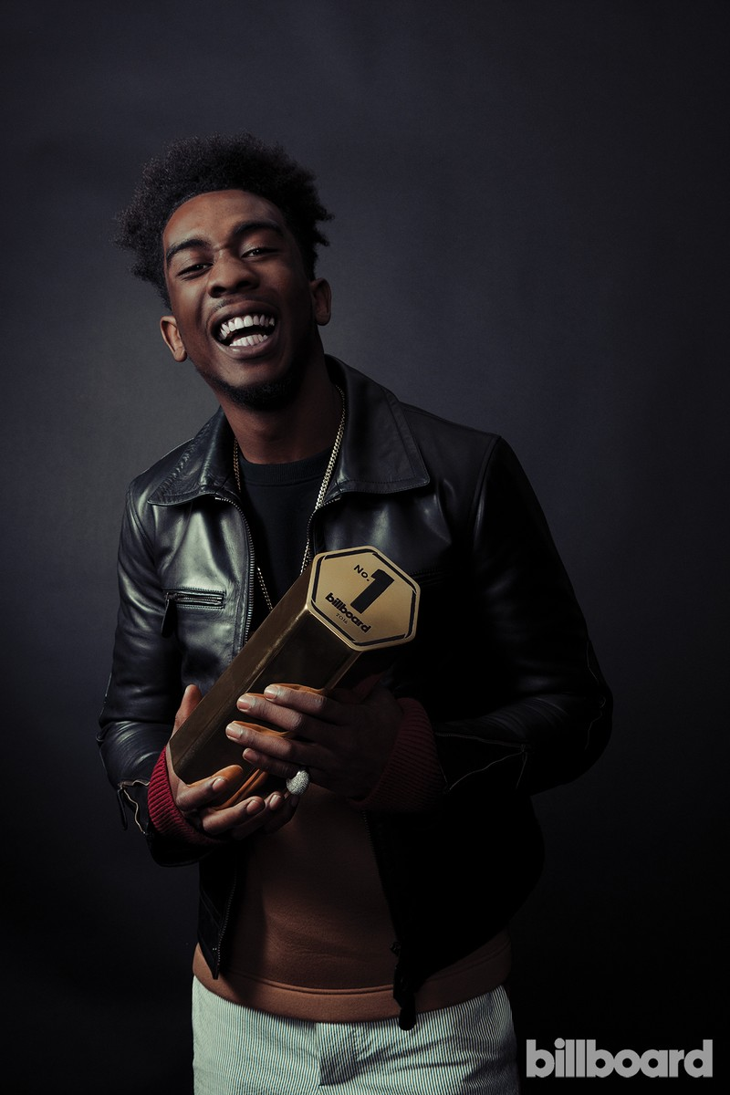 Desiigner photographed on Feb. 9 at Billboard Power 100 in West Hollywood, Calif.