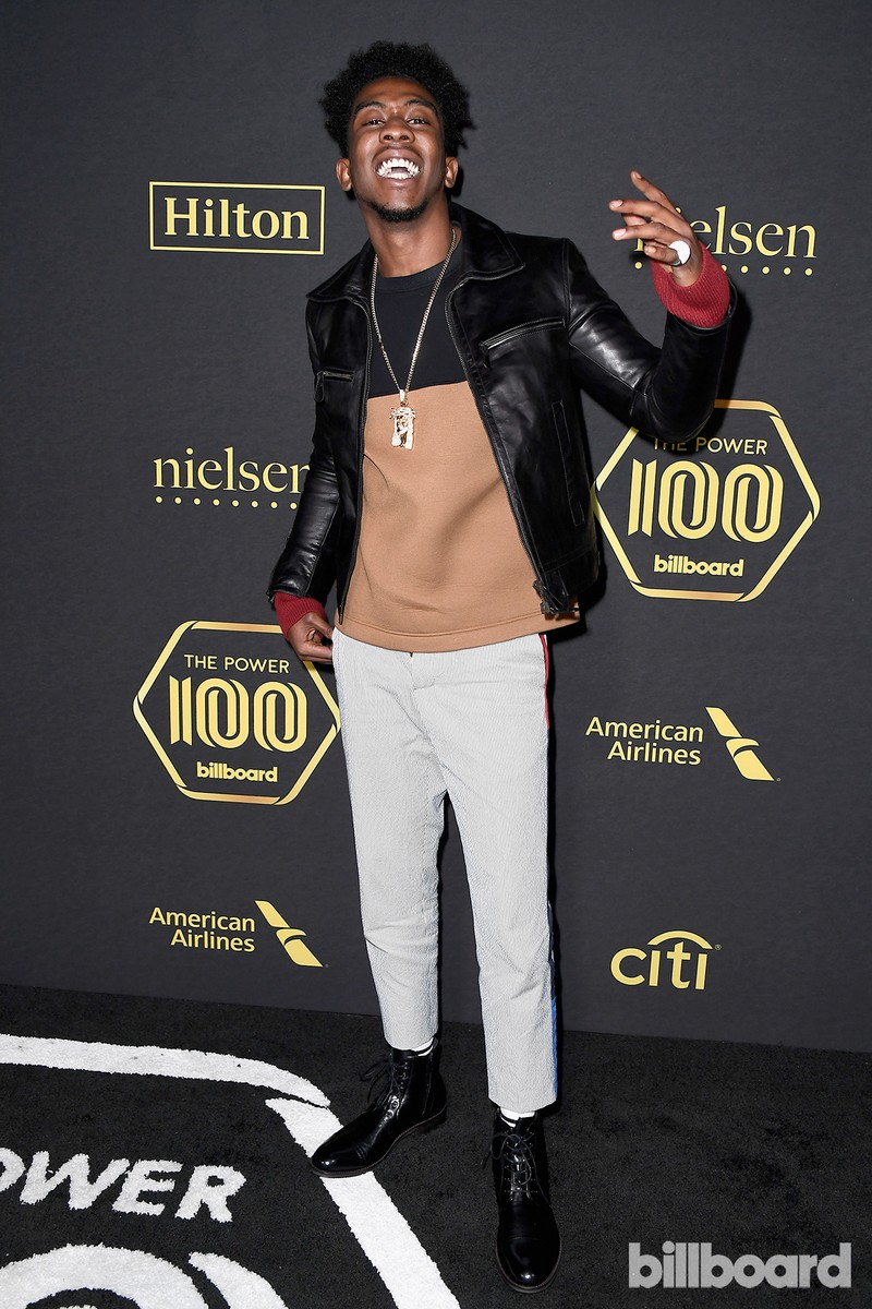 Desiigner attends Billboard Power 100 - Red Carpet at Cecconi's on Feb. 9, 2017 in West Hollywood, Calif.