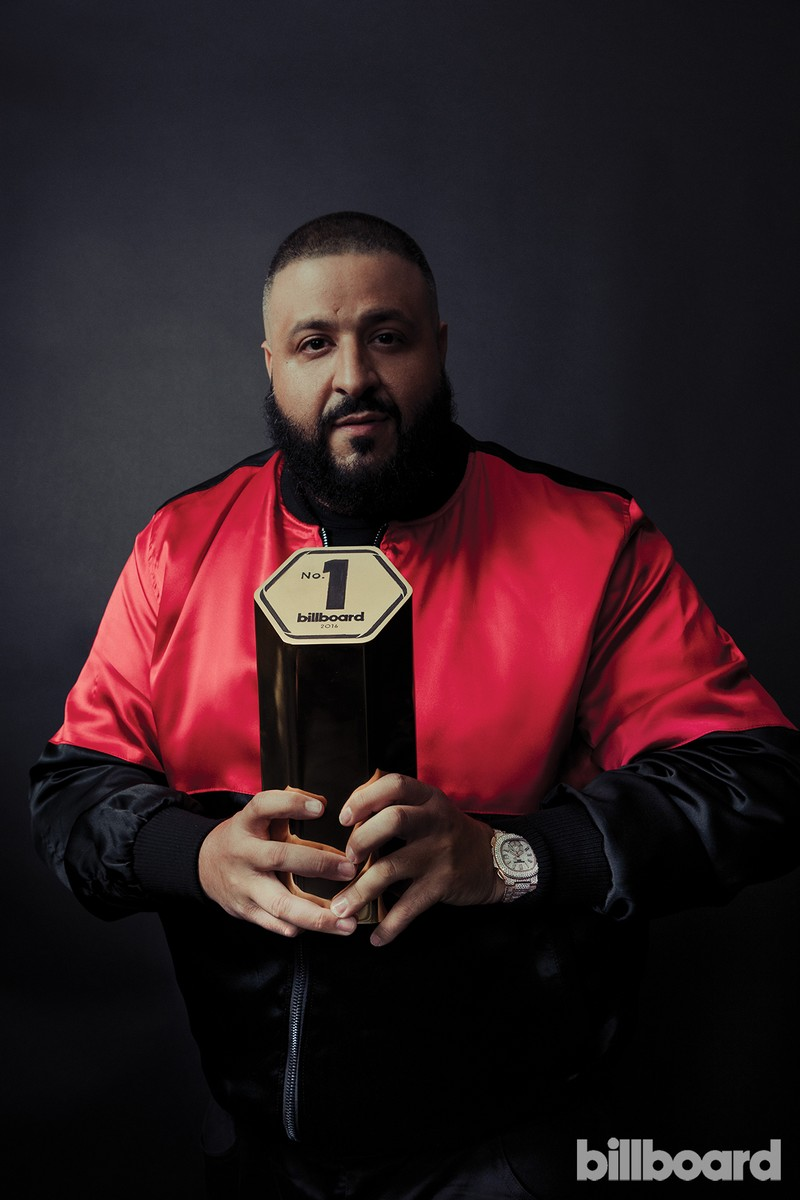 DJ Khaled photographed on Feb. 9 at Billboard Power 100 in West Hollywood, Calif.