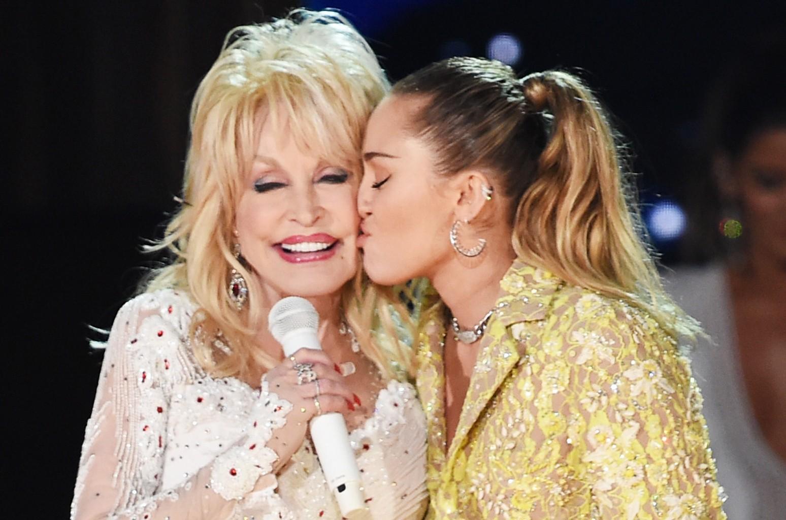 Dolly Parton Miley Cyrus