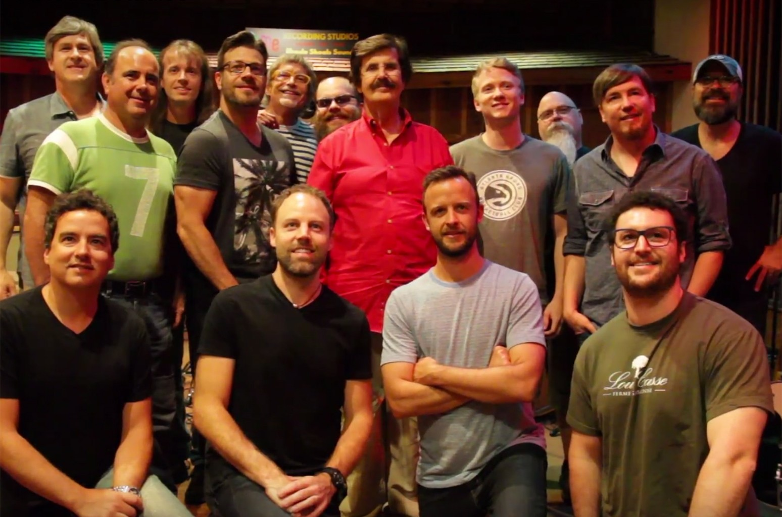 Third Day records their new album at FAME Studios in Muscle Shoals, Ala.